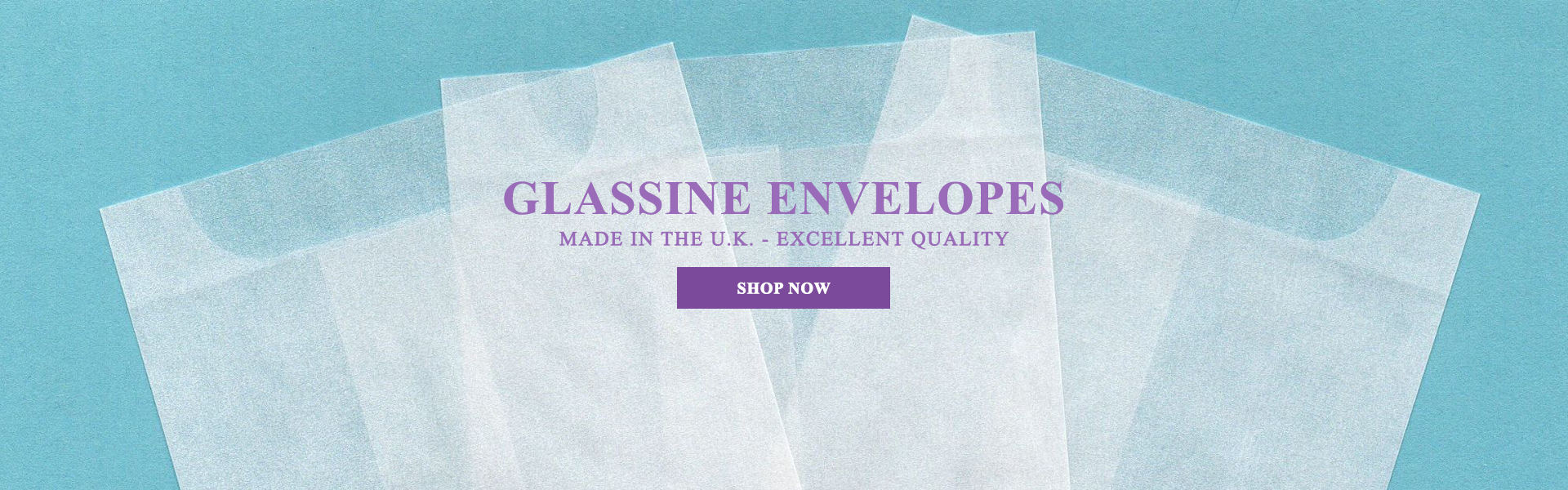 High Quality Glassine Envelopes